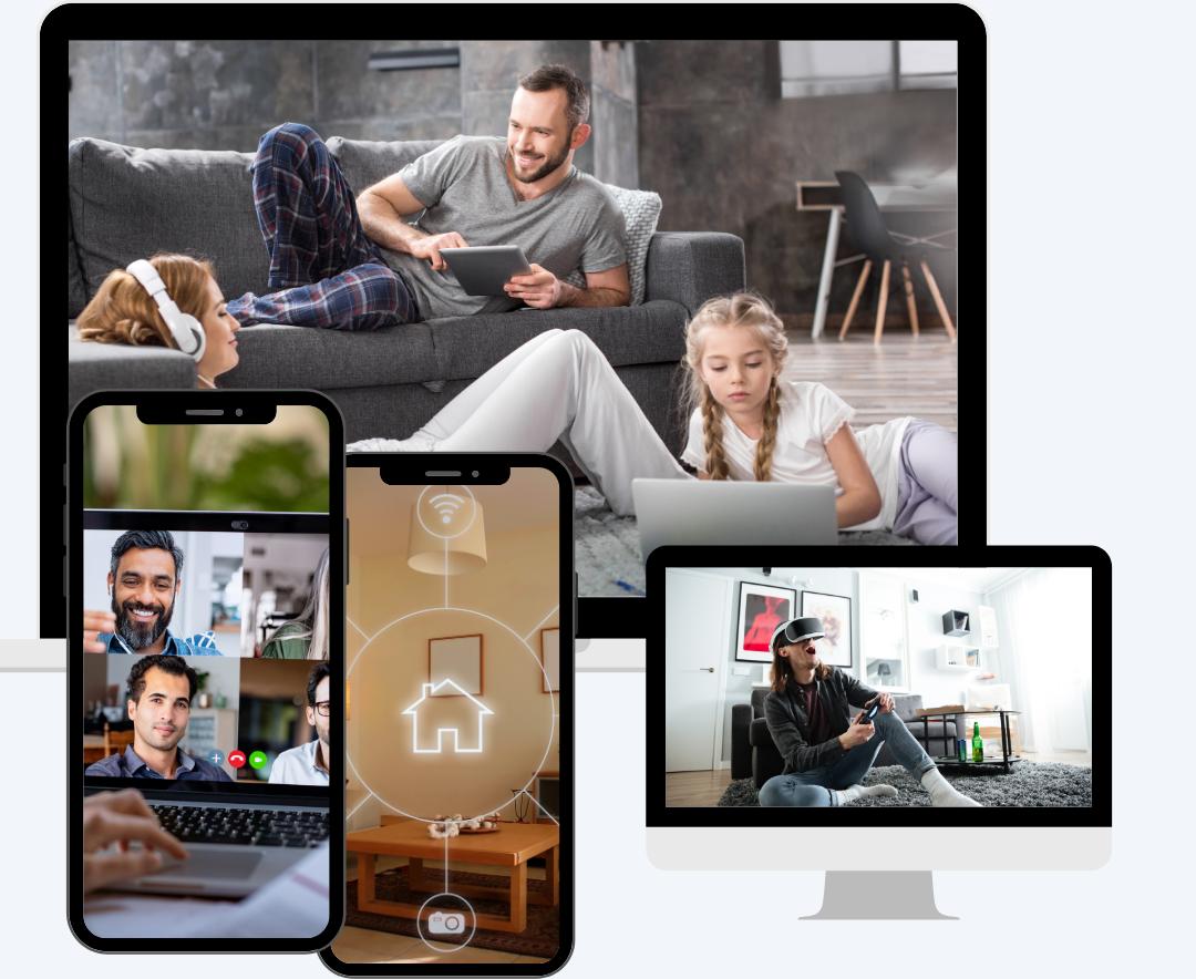 Qual è la velocità internet migliore per una famiglia?
